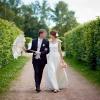 свадебная прогулка в Кусково